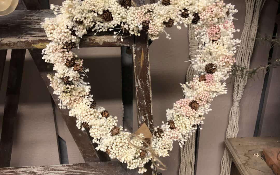Tørkede blomster i bryllup